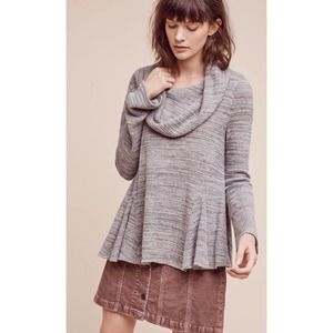 Postmark Cowled Maurisa Top waffle knit sweater
